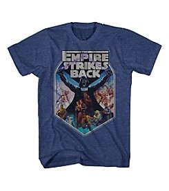 Mad Engine Men's Short Sleeve Star Wars Empire Strikes Back Graphic Tee