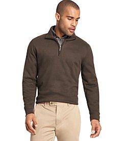 Van Heusen® Men's Big & Tall Long Sleeve Spectator 1/4 Zip Pullover