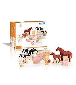 Guidecraft® Wedgies Farm Animals Set