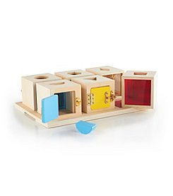 Guidecraft® 6pc Peekaboo Lock Boxes