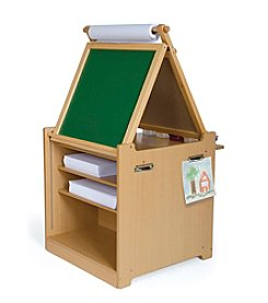 Guidecraft® Desk to Easel Art Cart