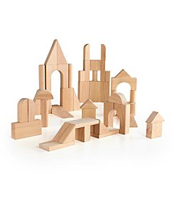Guidecraft® 76-Pc. Hardwood Deluxe Block Set
