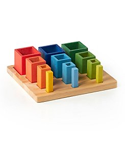 Guidecraft® Nesting Sort Stack Cubes