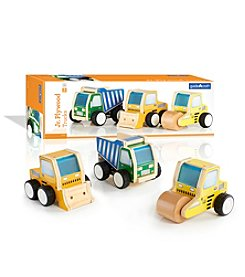 Guidecraft® Jr Plywood Construction Trucks