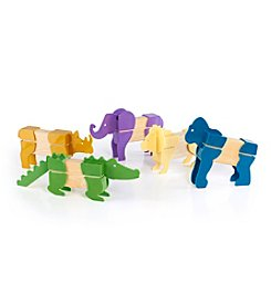 Guidecraft® Block Mates Safari Animals