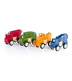 Guidecraft® Block Mates Construction Vehicles