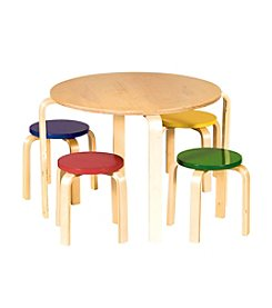 Guidecraft® Multi Color Nordic Table Set