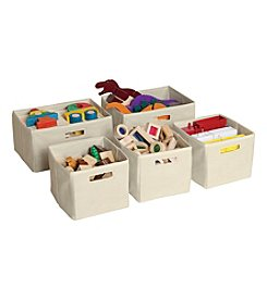 Guidecraft® 5-Piece Storage Bins