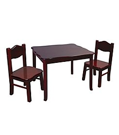 Guidecraft® Classic Espresso Table & Chairs