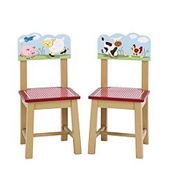 Guidecraft®   2-Piece Farm Friends Extra Chairs