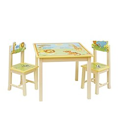 Guidecraft®  Savanna Smiles Table & Chairs Set