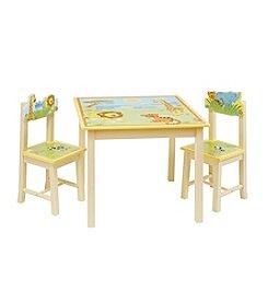 Guidecraft®  Savanna Smiles Table & Chairs Set