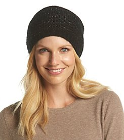 Steve Madden Metallic Purl Knit Hat