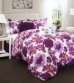 Lush Decor Leah 7-pc. Comforter Set