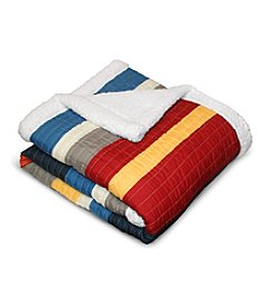 Lush Decor Cliveden Stripe Throw