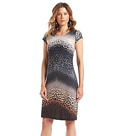 Madison Leigh® Ombre Animal Print Dress