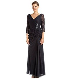 Adrianna Papell® Rouched Jewel Waist Dress