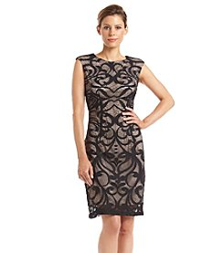 Madison Leigh® Contrast Lined Lace Dress