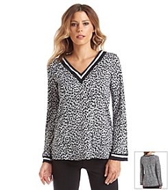 MICHAEL Michael Kors® Abstract Jaguar Border Tunic