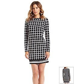 MICHAEL Michael Kors® Checkered Border Dress