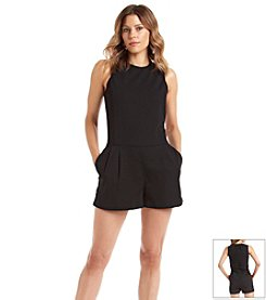 MICHAEL Michael Kors® Tailored Sleeveless Short Romper