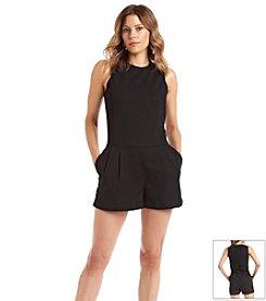 MICHAEL Michael Kors® Tailored Sleeveless Short Romper