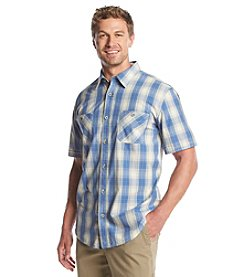 Weatherproof® Men's Short Sleeve Ombre Plaid Button Down Shirt