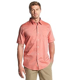 Weatherproof® Men's Short Sleeve Cotton Button Down Shirt