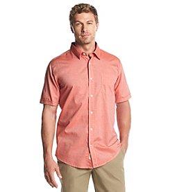 Weatherproof® Men's Short Sleeve Cotton Button Down Shirt