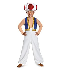 Nintendo® Super Mario Bros® Toad Deluxe Child Costume