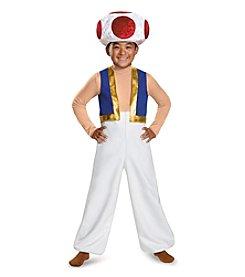 Nintendo® Super Mario Bros® Toad Deluxe Child Costume