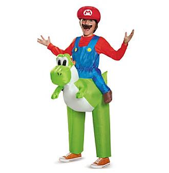 Nintendo Super Mario Bros® Mario Riding Yoshi Inflatable