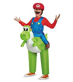 Nintendo Super Mario Bros® Mario Riding Yoshi Inflatable Child Costume