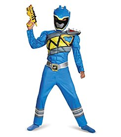 Power Rangers® Dino Charge: Blue Ranger Muscle Child Costume