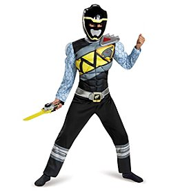 Power Rangers® Dino Charge: Black Ranger Muscle Child Costume