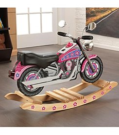 KidKraft® Flower Power Rockin Motorcycle