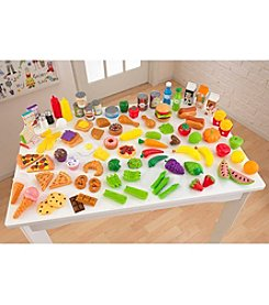 KidKraft® 105-Piece  Play Food Set