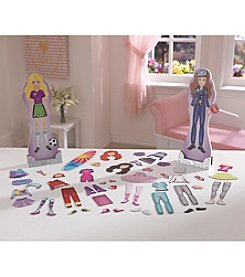 KidKraft® Professions Magnetic Dress Up Doll