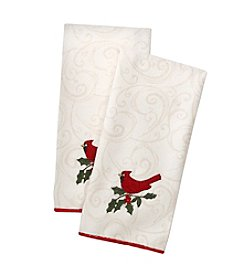 Ritz™ Holiday Song Cardinal 2-pk. Kitchen Towels