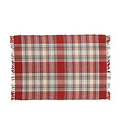 Ruff Hewn Red Plaid Placemat