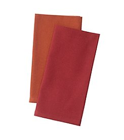 LivingQuarters Fall & Harvest Solid Napkin