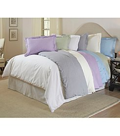 Pointehaven 300-Thread Count Printed Cotton Duvet Set
