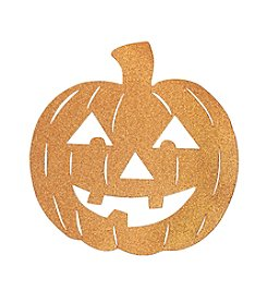 LivingQuarters Glitter Jack O' Lantern Placemat