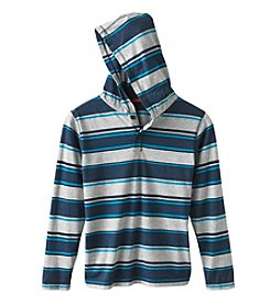 Ruff Hewn Boys' 8-20 Long Sleeve Striped Hoodie