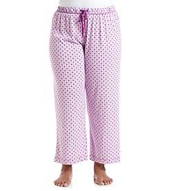 KN Karen Neuburger Plus Size Printed Pajama Pants
