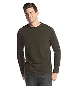 John Bartlett Men's Long Sleeve Marled Siro Crewneck Tee