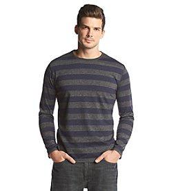 John Bartlett® Men's Long Sleeve Siro Crewneck, Rugby Stripe Tee
