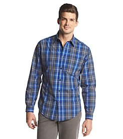 John Bartlett Consensus Men's Long Sleeve Washed Button Down Shirt