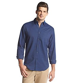 John Bartlett Consensus® Men's Long Sleeve Solid Oxford Button Down Shirt