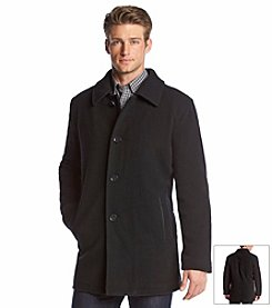 Cole Haan® Men's Plush Wool Coat